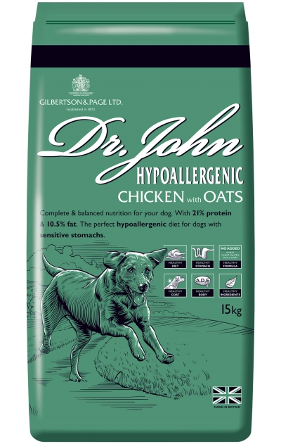 dr john hypoallergenic chicken with oats