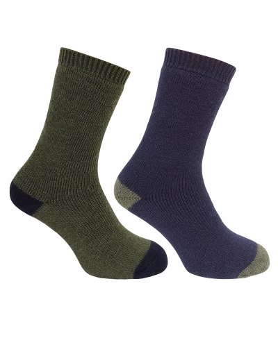 country short socks (twin pack)