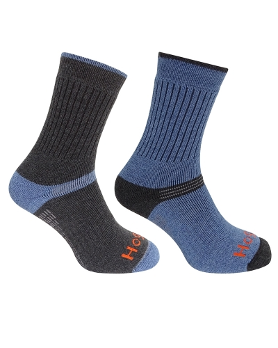 tech active socks (twin pack)